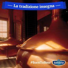 La tradizione ha un grande peso per Bavaria: basta fare un giro nel mio stabilimento per capire che metodi tradizionali e tecniche innovative convivono da sempre per distribuire nel mondo una birra Premium. Questo è il segreto di Bavaria e del suo gusto autentico. #borntobeer