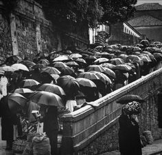 Santiago de Compostela 1961. Photo: Jean Dieuzaide