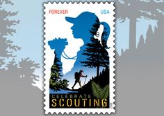 USPS Salutes Girl Scouts' 100th Anniversary with Forever Stamp