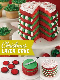 Christmas 5-Layer Cake from A.C. Moore Arts & Crafts