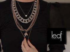 LEAF: How To Layer Jewelry