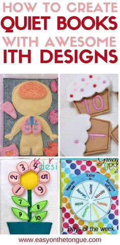 Trendy sewing toys for baby diy quiet books 28 Ideas Diy Quiet Books, Baby Quiet Book, Felt Quiet Books, Quiet Book For Toddlers, Diy Busy Books, Quiet Book Templates, Quiet Book Patterns, Sewing Toys, Sewing Crafts