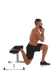 Gli squat sono i migliori esercizi per i glutei. Si tratta di esercizi mirati e completi, che lavorano su una grande quantità di fibre muscolari in tutto il corpo (non solo delle gambe e dei glutei). Di seguito ti suggeriamo 5 tipi di squat per diversificare i tuoi esercizi per i glutei. Squat bulgaro. E' un ibrido fra lo squat classico e il lunge (affondo). Si tratta forse dell'esercizio per gambe che più stimola i glutei, in quanto quando arriviamo a toccare il pavimento con le ginocchia…
