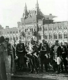 "Tsar Nicholas ll of Russia at the Celebration of the Tercentenary of the Romanov Dynasty in 1913. ""AL"""