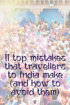 11 Top Mistakes for India Travel (+ How to Avoid Them)   Soul Travel India Delhi Metro, Responsible Travel, India Travel, Incredible India, Public Transport, Mistakes, Travel Inspiration, Tourism, Top