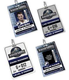 Image of Jurassic World - ID Badges