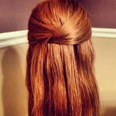 casual hair tutorial