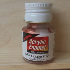 Pactra ACRYLIC PAINT - Copper (A73) for model-making and craft. by AllScalesModels on Etsy Copper, Diorama, Unique Jewelry, Handmade Gifts, Model, How To Make, Crafts, Painting, Etsy