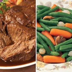 Savory Pot Roast Dinner  #OmahaSteaksHoliday