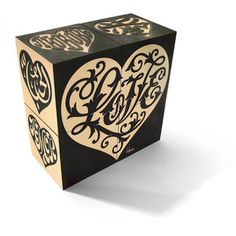 Love Blocks Black, $18, now featured on Fab.