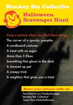 Can you find everything in our Halloween scavenger hunt? #MBCHalloween #scavengerhunt