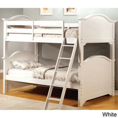 Larissa Twin Over Twin Bunk Bed with Under Bed Drawers | Overstock.com Shopping - Great Deals on Beds $1,067