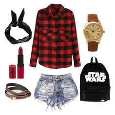 """""""Rockin Rebel"""" by bailey-is-the-lamb ❤ liked on Polyvore"""