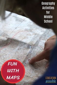 100 Hands-on Geography Activities for Middle School Geography Lesson Plans, Geography Activities, Social Studies Lesson Plans, Social Studies Activities, Hands On Geography, Middle School Geography, World Geography, Creative Activities, Hands On Activities