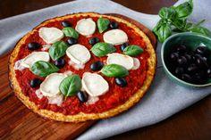 Zdravá květáková pizza Portobello, Pina Colada, Naan, Tahini, Gnocchi, Vegetable Pizza, Hummus, Red Velvet, Cheesecake