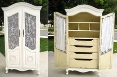 Armoire with drawers