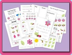 Pretty Bugs & Creatures Preschool Pack