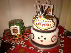 Viva Las Vegas! - Grooms cake