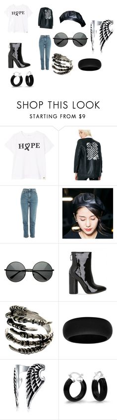 """""""Hope"""" by junie-matt2 on Polyvore featuring MANGO, OBEY Clothing, Topshop and Bling Jewelry"""