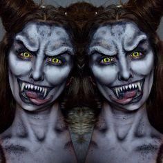 """Gefällt 3,169 Mal, 94 Kommentare - Ellie H-M (@ellie35x) auf Instagram: """"Close-up of Zombie Clown!💀💉"""""""