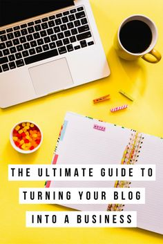 Are you serious about turning your blog into a business? Then click through for the ultimate guide to turn your blog into a business! Actionable steps, resources and checklists are included! Perfect for bloggers and entrepreneurs who want to take things to the next level.