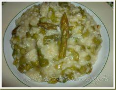 Le Ricette della Nonna: Risotto agli asparagi Ethnic Recipes, Food, Essen, Meals, Yemek, Eten
