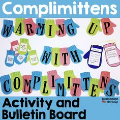 This winter themed activity helps elementary school students practice giving compliments. Student work to generate compliments for their classmates. Teachers or counselors can model the types of compliments you could give someone. This is a great activity to use in classrooms focusing on kindness, community building, and overall social and emotional skills.