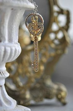 crystal key....