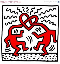 Untitled By Keith Haring: Category: Art Currency: GBP Price: Retail Price: Pop Art Graffiti Gift ShopBlack and White Art for… Keith Haring Poster, Keith Haring Art, Keith Allen, Pittsburgh, Poster S, Family Poster, Arte Popular, Norman Rockwell, Mondrian