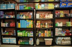 Build a Grocery Stockpile. Have you been thinking about starting a grocery stockpile to save money? It& really not that hard to do - I promise! It does ta Survival Prepping, Emergency Preparedness, Survival Skills, Best Survival Gear, Emergency Food, Homestead Survival, Basement Storage, Pantry Storage, Basement Ideas