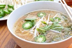 Let your crock pot do the work for this easy Chicken Pho!