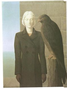 """""""Deep Waters,"""" c.1941 by Rene Magritte (1898-1967)"""