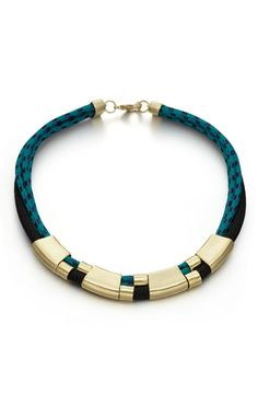 Multi-Row necklace. #orlygenger #necklace #saksexclusive