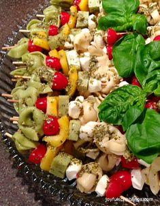 An easy finger food appetizer you can make ahead of time. @joyfulscribblings #appetizer