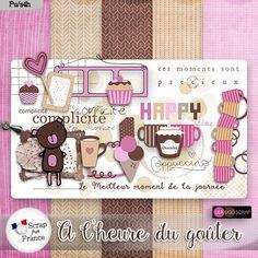 CTD - A l'heure du gouter by Leaugoscrap