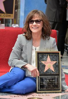 Sally Field - Sally Field Honored on the Walk of Fame
