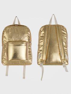 Lame Denim School Bag