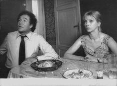 Mariangela Melato e Ugo Tognazzi - Il Gatto (Archivio Corsera)