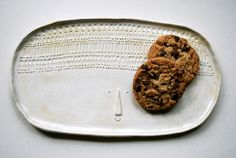 Atelier Stella. Ceramic biscuit plate