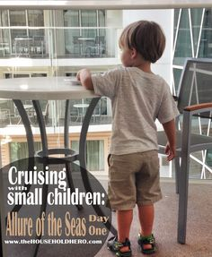 Cruising with kids on the Allure of the Seas  cruise tips  from The Household Hero #allureoftheseas