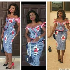 20 Most trending Ankara Styles Ankara Dress Designs, Ankara Dress Styles, African Print Dresses, African Dresses For Women, African Attire, African Wear, African Prints, Blouse Styles, African Fashion Ankara