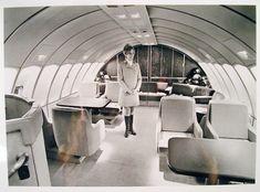 Pan Am First Class 747 lounge