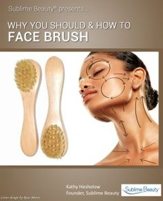 Skin Brushes for Face in Pouch Dry Brushing Face, Benefits Of Dry Brushing, Dry Face, Face Skin, Beauty Makeover, Body Treatments, Face Treatment, Face Exercises, Anti Aging Eye Cream
