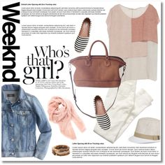 Weekend style by galina-gavrailova on Polyvore featuring polyvore fashion style Zara J.Crew American Eagle Outfitters RED Valentino Madewell Sonoma life + style Faliero Sarti BCBGMAXAZRIA Kershaw weekend weekendstyle