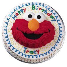 Elmo Face Cake Wilton Cake Pan Elmo Birthday Wilton