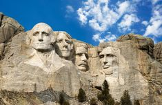 Mount Rushmore National Memorial (South Dakota)Discover Mount Rushmore, the Badlands and more. See the full list of South Dakota national parks Vacation Destinations, Dream Vacations, Vacation Spots, Vacation Ideas, Vacation Memories, South Dakota, Monte Rushmore, Places To Travel, Places To Go