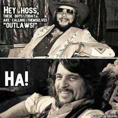 I love country music.but these men are true outlaws! Old Country Music, Outlaw Country, Country Music Quotes, Country Music Artists, Country Music Stars, Country Singers, Country Boys, Country Musicians, Hank Williams Jr