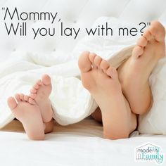 Mommy, will you lay with me?