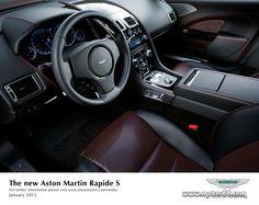 Interior del Aston Martin Rapide S