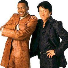 Chris Tucker and Jackie Chan